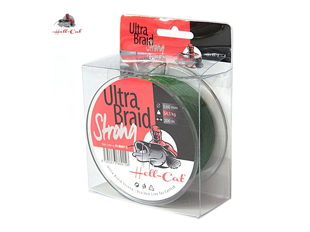 Hell-Cat Ultra Braid Strong 0,60mm, 54,50kg,200m