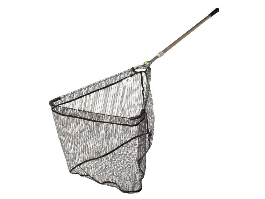 Giants fishing Podběrák Strong Alu Rubber Landing Net 2,2m, 60x60cm