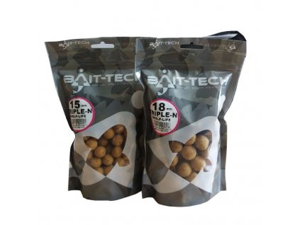 Bait-Tech Boiles Triple-N Boilies - Handy Pack 15mm, 300g