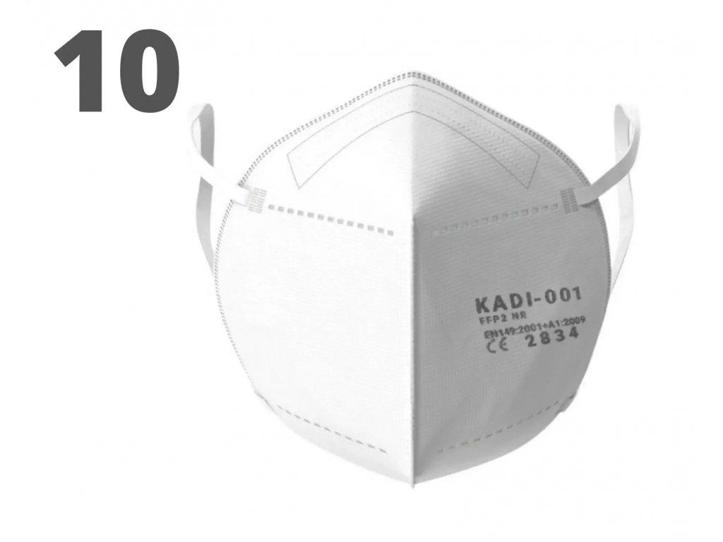 Respirátor FFP2 KADI 001 (10ks)
