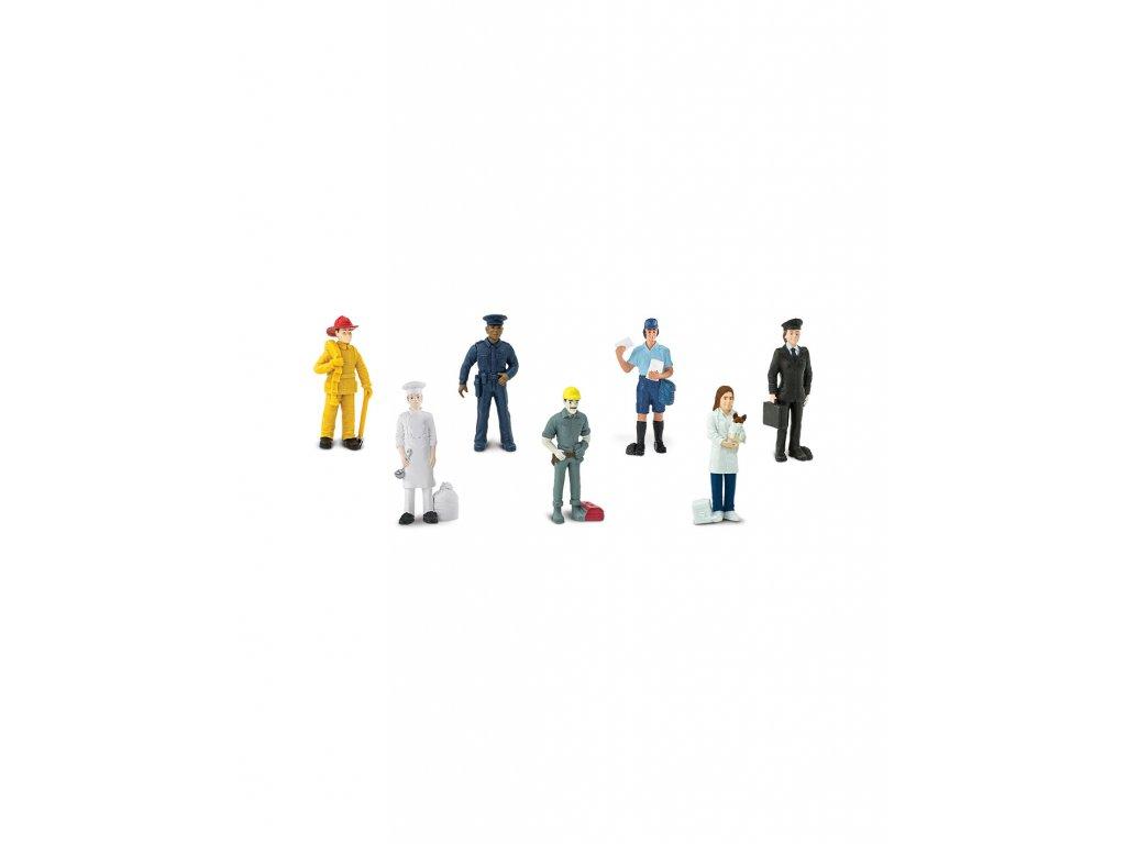 Safari Ltd - Tuba - Lidé v práci