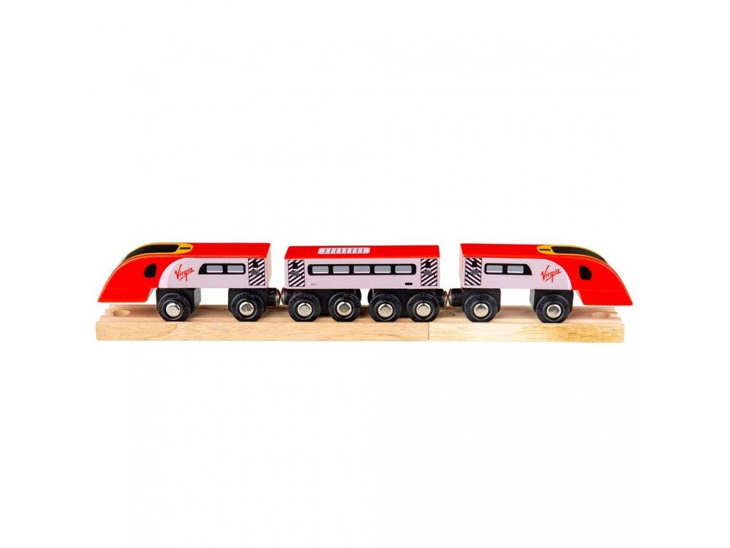 Bigjigs Rail Virgin Pendolino