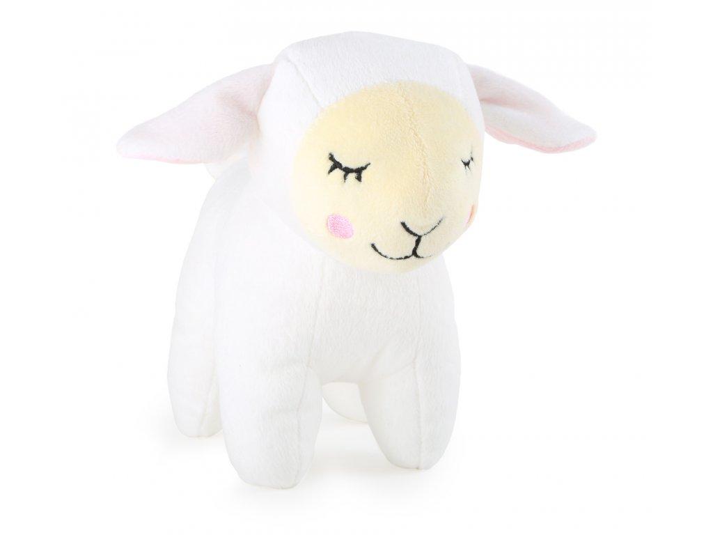Small Foot Plyšová spící ovečka Lotta