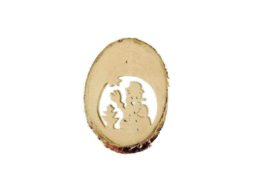 Small Foot Dětské dekorace přírodní obrazky zima 10 ks
