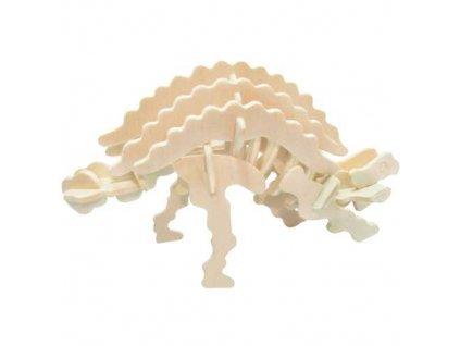 Woodcraft Dřevěné 3D puzzle Ankylosaurus