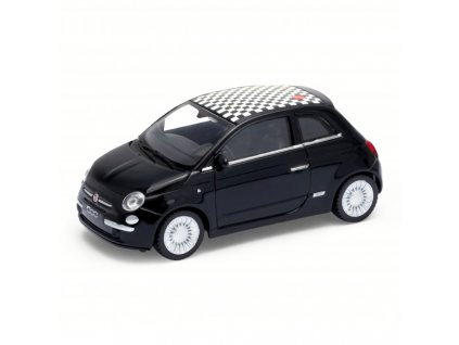 Welly - Fiat 500 model 1:43 Sport černá Welly - Fiat 500 model 1:43 Sport černá