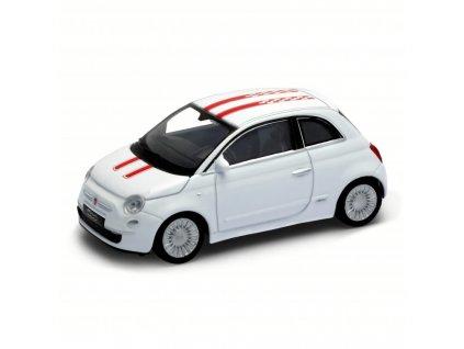 Welly - Fiat 500 model 1:43 Sport bílá Welly - Fiat 500 model 1:43 Sport bílá