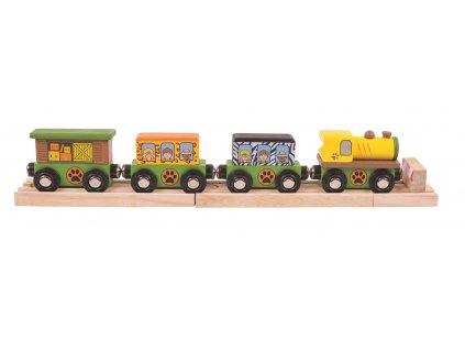 Bigjigs Rail Vláček Safari