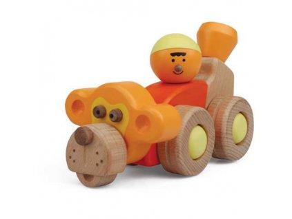 My Zoo Hravá stavebnice Opičí auto