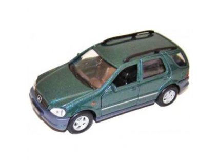 Welly Mercedes-Benz M-Class model 1:34 zelený