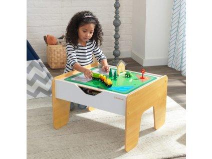 KidKraft Hrací stůl 2v1 s příslušenstvím