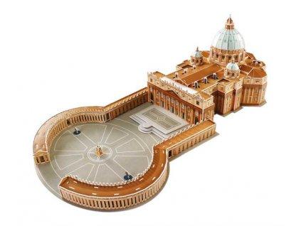 Small Foot Třívrstvé pěnové 3D puzzle Bazilika svatého Petra