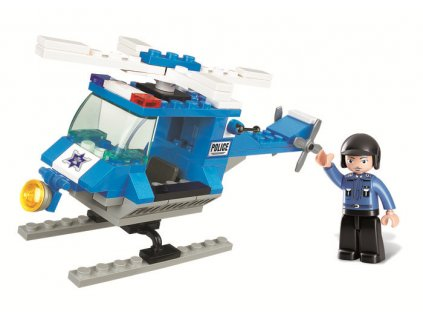 Sluban Town M38-B0175 Policejní helikoptéra