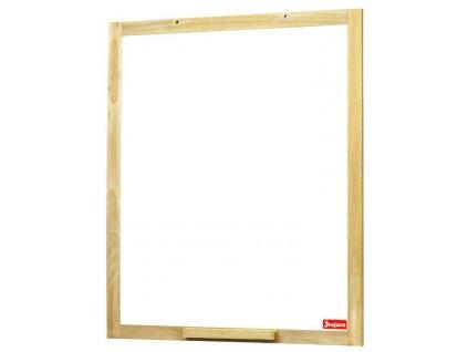 Jeujura Dřevěná nástěnná magnetická tabule 54x66 cm