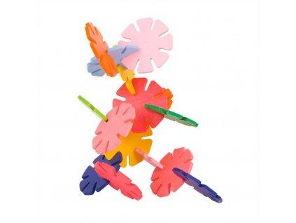 Bigjigs Toys Dřevěná stavebnice Daisy fun