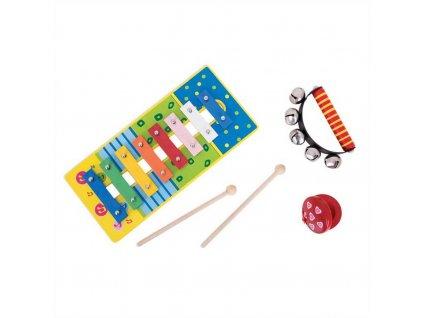 Bigjigs Toys Dětský hudební set