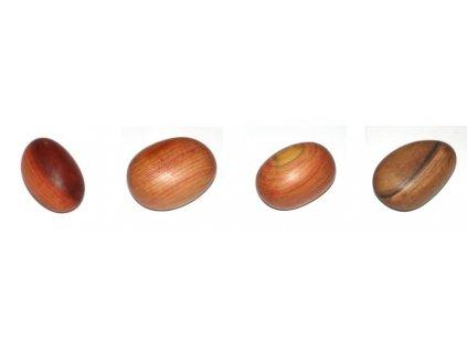 Dřevěný kamínek Valounek (hmatka) 1ks