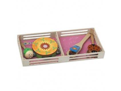 HJ Toys Dětské hudební nástroje sada A