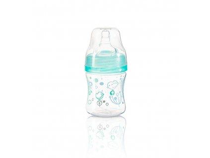 Antikoliková láhev s širokým hrdlem Baby Ono 120 ml - modrá