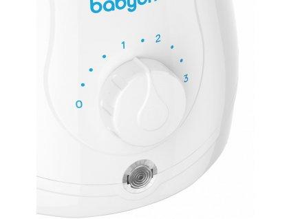 Elektrický ohřívač jídla Natural Nursing Baby Ono s funkcí sterilizace 2v1 - bílá