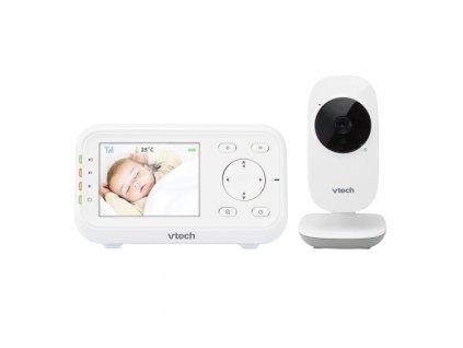 """Video chůvička 2,8"""" Vtech VM3255 - bílá"""
