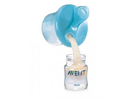 Dávkovač sušeného mléka Avent - modrá