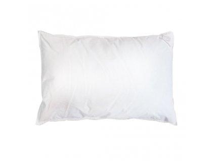 Dětský péřový polštář - 60x40cm - bílá