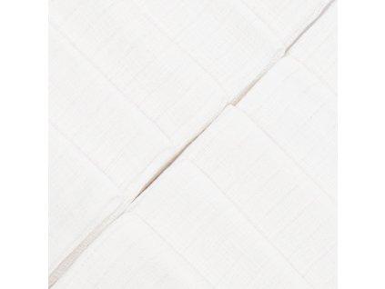 Bavlněné pleny NEW BABY 60x80 cm STANDARD 10 ks - bílá