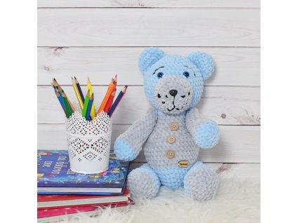 "Medvídek (modrá) ""Handmade"""
