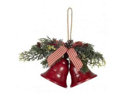 Závěsné zvonečky - červené