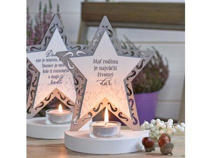 Hvězda svícen - Rodina je životní dar SK