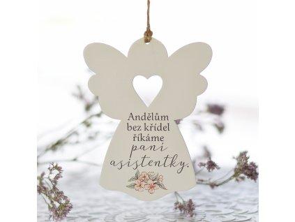 Anděl se srdcem - Paní asistentce