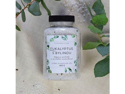 Sůl do koupele - Eukalyptus s bylinou