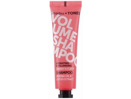 Mades Hydratační šampón pro větší objem - Jojoba & Lotus, 65ml
