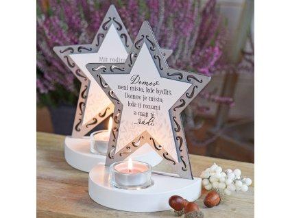 Hvězda svícen - Místo, kde tě mají rádi.