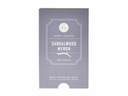 DW Home Vonný vosk - Sandalwood Myrrh