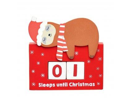 Odpočítávání - Počet spánků do Vánoc