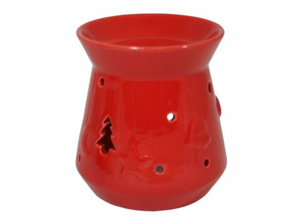 Aroma lampa - červená/vánoční