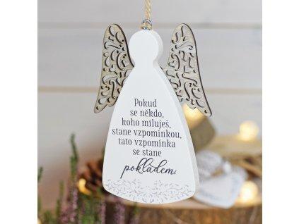 """Anděl - """"Vzpomínky jsou pokladem"""""""