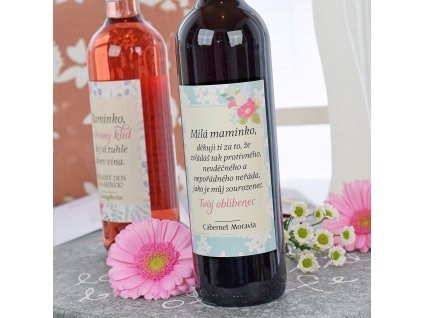Dárkové víno - červené - Milá maminko 0,7 l
