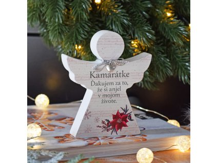 """Vánoční anděl - """"Kamarátke"""" SK"""