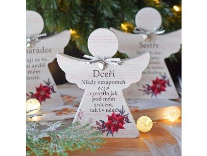 """Vánoční anděl - """"Dceři"""""""