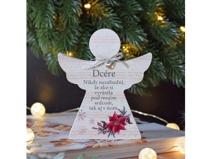 """Vánoční anděl - """"Dcére"""" SK"""