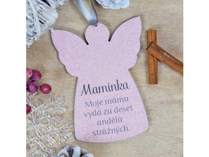 Anděl maminka