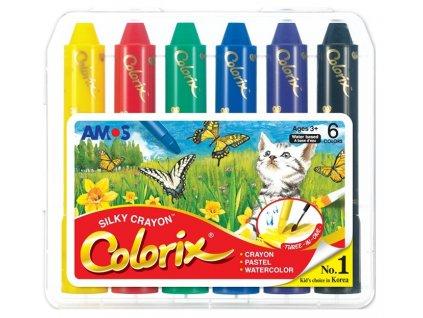Rozmývatelné barvy - 6 ks