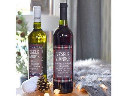"""Vánoční víno - """"Dám si i červené."""" (ČERVENÉ) SK"""