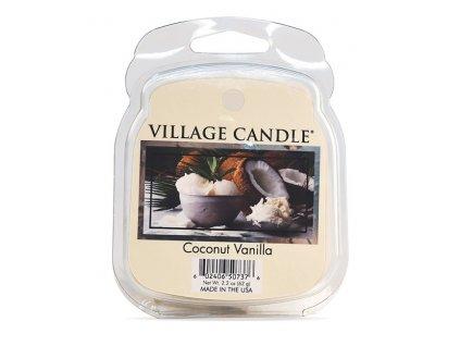 Village Candle Vosk, Coconut Vanilla 62g