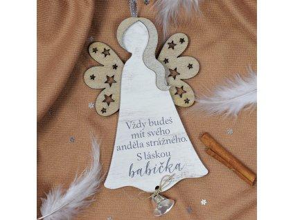 Anděl se zvonečkem - Anděl strážný (babička)