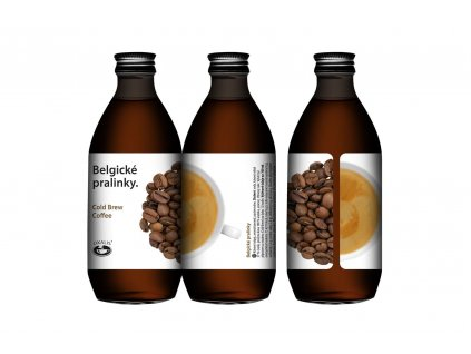 Belgické pralinky - Cold Brew Coffee 250 ml