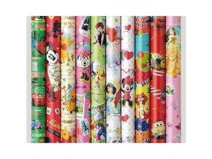 Balící papír - Disney ledové království barva